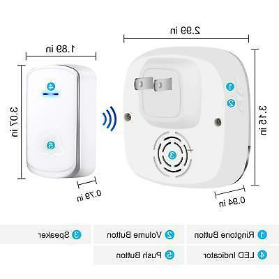 AUTENS Wireless Doorbell, in for