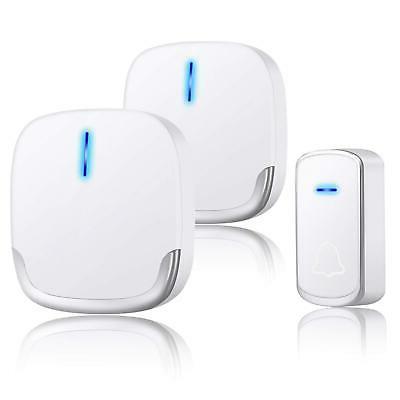 wireless doorbell plug in door bells chimes
