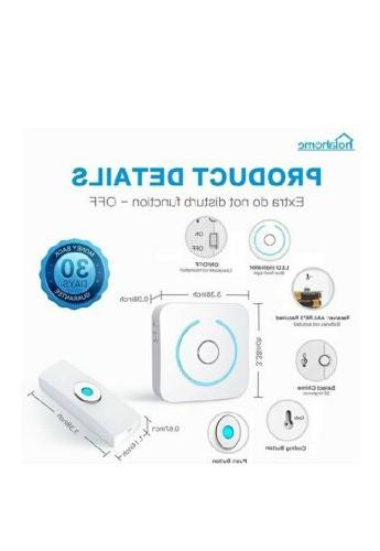 Wireless Push Button Wireless with Battery