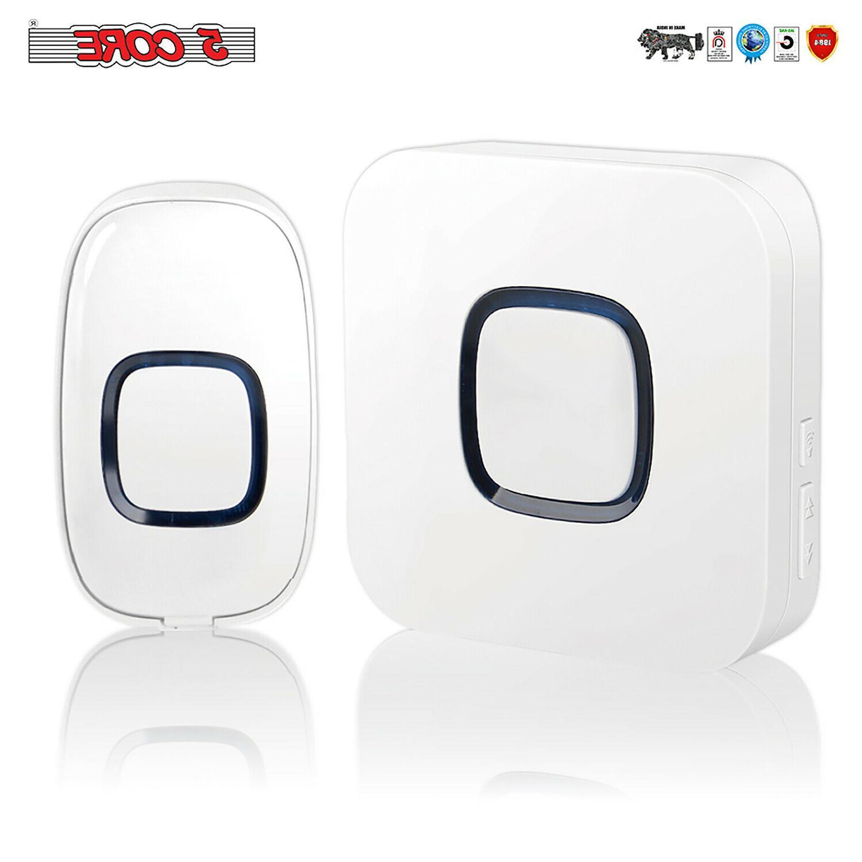 wireless doorbell waterproof 700 feet 58 chimes