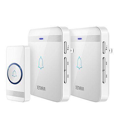 wireless doorbell waterproof chime kit operating at