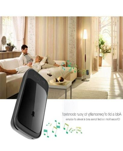 wireless doorbell waterproof door bell chime kit