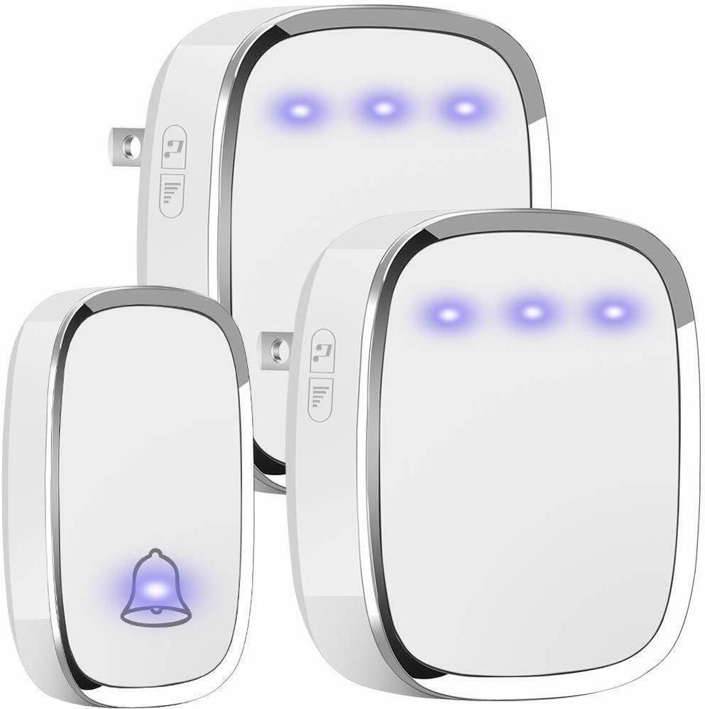 wireless doorbell waterproof kit with over 36