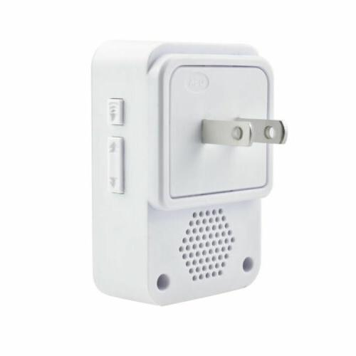 Wireless Waterproof Wall 55 Chimes 400FT Cordless Kit