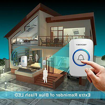 Wireless Door Bell Chime Kit with LED