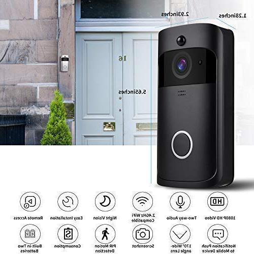 IP 65 with PIR Detection and Free with Doorbell Chime