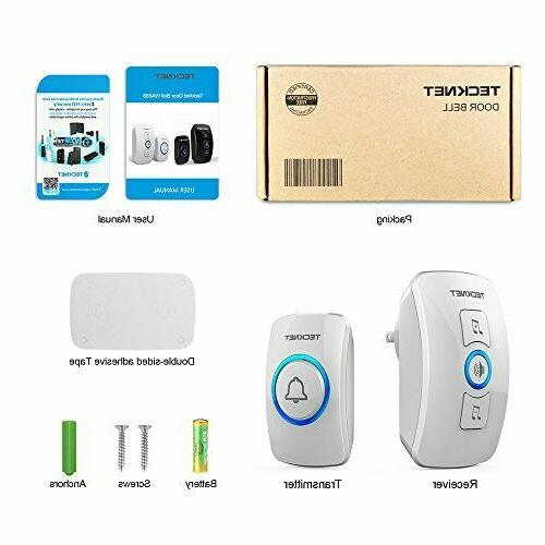 Wireless Doorbell, Door Bell Size