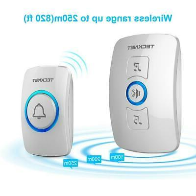 Wireless Doorbell, Door with LED