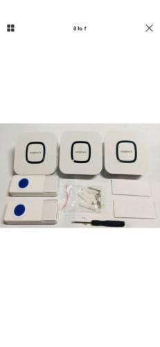 Coolqiya Wireless Doorbells Chimes for Home )