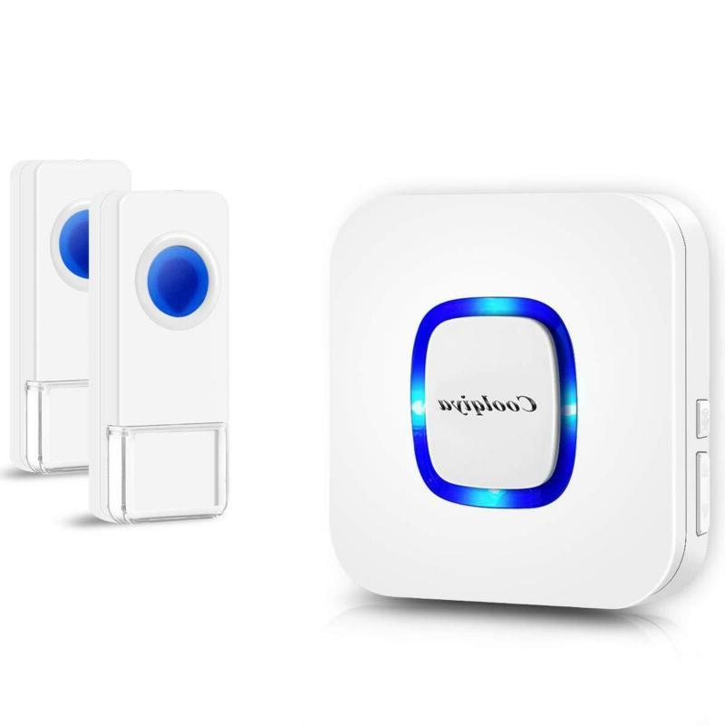 wireless doorbells chimes for home with 2