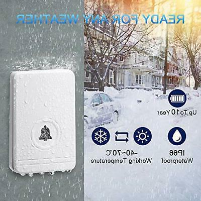 Wireless Doorbells for Wsdcam Waterproof Doorbell