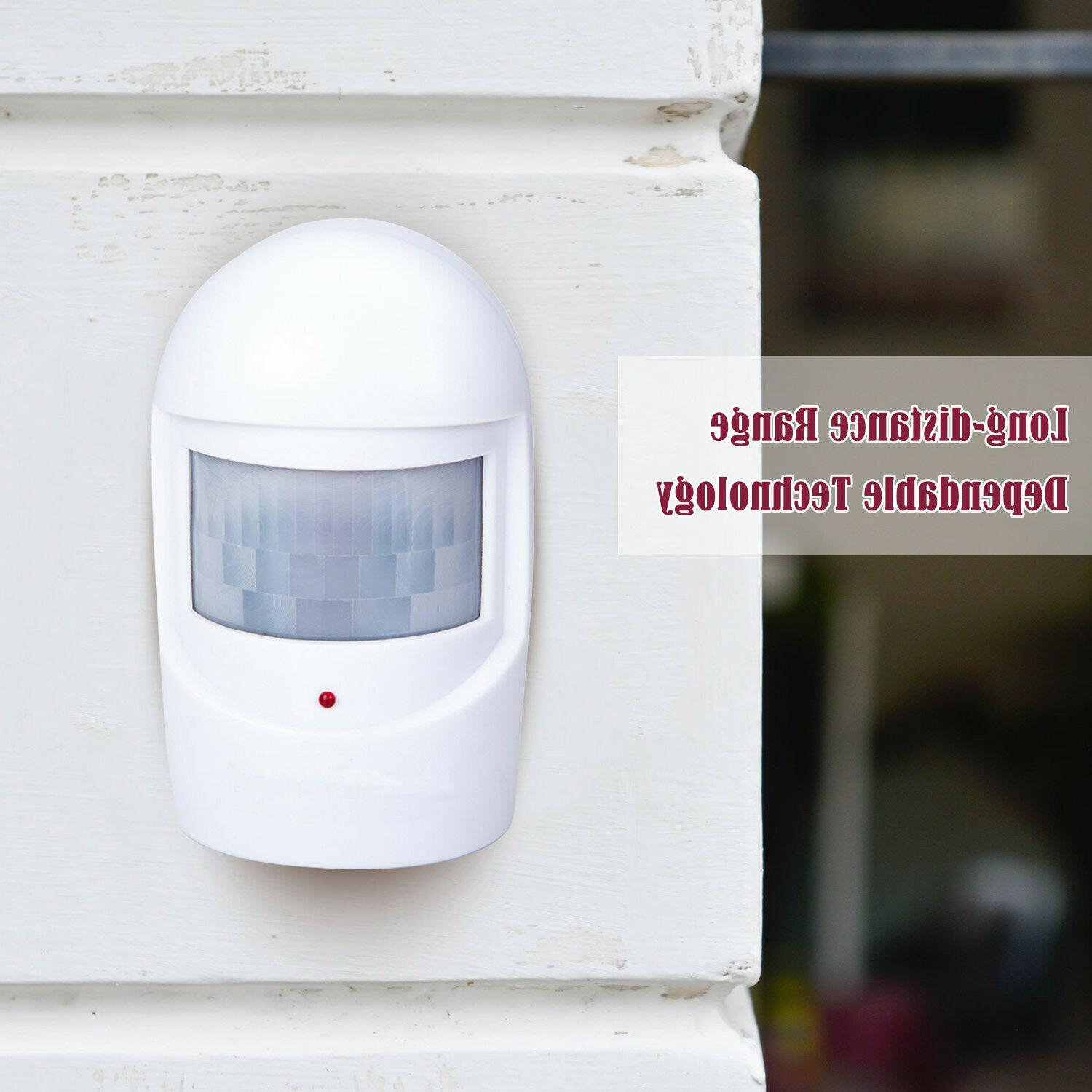 Home Security System Driveway Motion Detector