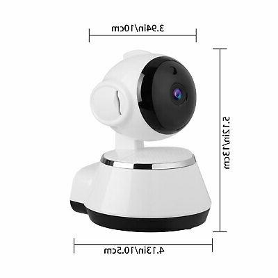 Wireless Pan Security 720P Network Camera Vision Webcam