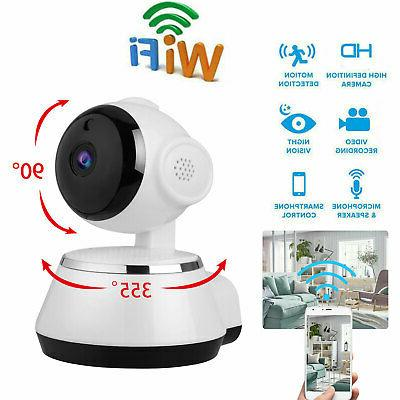 wireless pan tilt security 720p network cctv