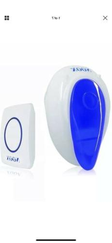 Wireless Push Buttons Doorbell Bell Chime For Home Office Ho
