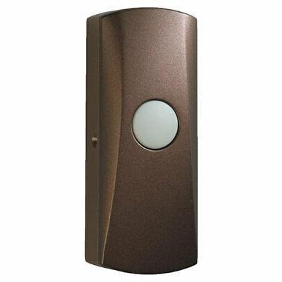 NuTone Wireless Pushbutton, Oil-Rubbed Bronze