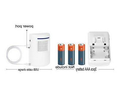 Wireless Sensor Motion Detector Doorbell Security Alarm