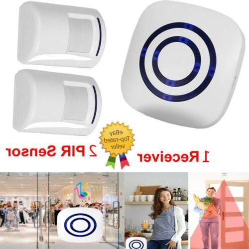 wireless sensor motion detector doorbell door chime