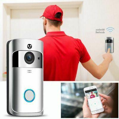 Wireless Smart DoorBell WiFi Video Phone Door Bell Two-Way T