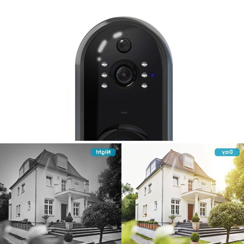 Wireless DoorBell WiFi Video Phone Two-Way NEW