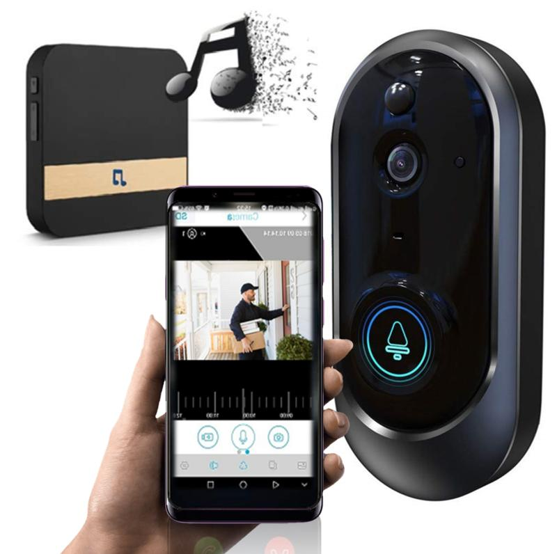 wireless smart doorbell wifi video phone door