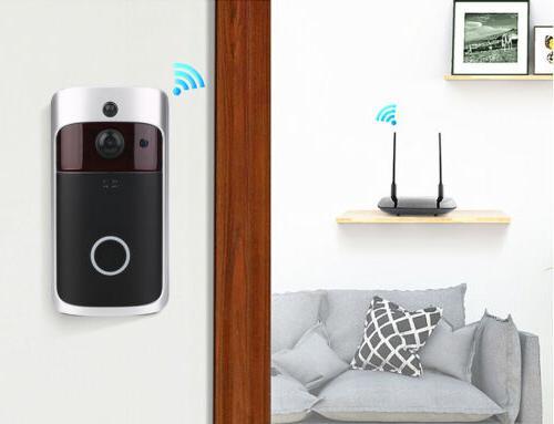 Wireless Video Doorbell WiFi Security 1080p