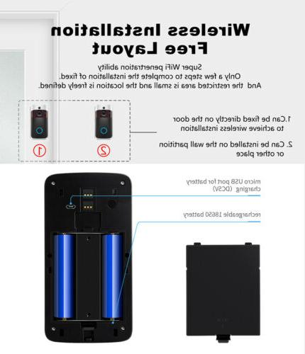 Wireless WiFi Security 1080p Intercom iPhone