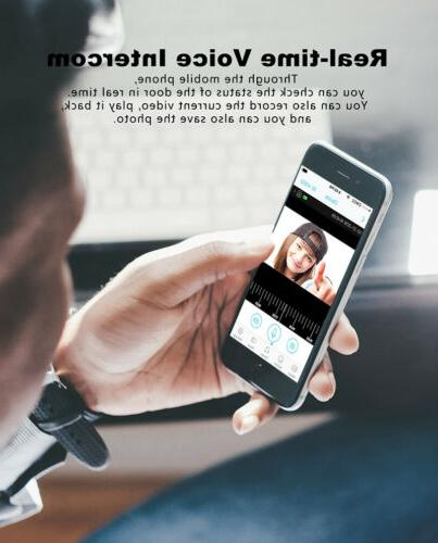 Wireless Smart WiFi Security 1080p Intercom Ring