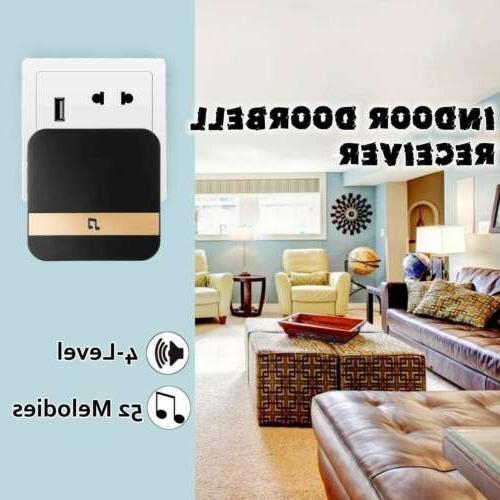 Wireless WiFi Camera 1080p Intercom iPhone
