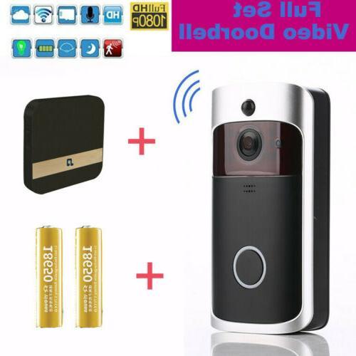 wireless smart video doorbell wifi security camera