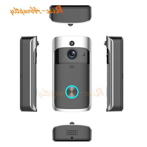 Wireless Smart WiFi Bell Camera Intercom Kit
