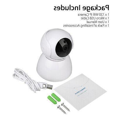 Wireless Pan 720P CCTV Camera Webcam