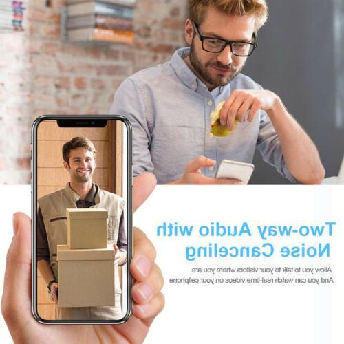 Wireless Smart Video Door Two-Way Talk US TM