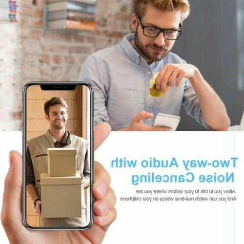 Wireless Smart WiFi IR Visual Intercom Security