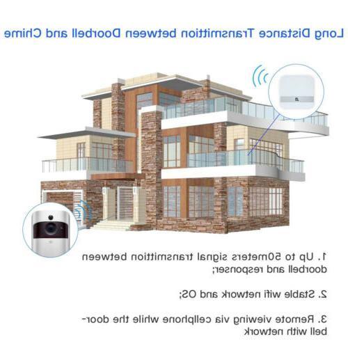 Wireless Smart WiFi Video Phone Two-Way Talk HD US TM