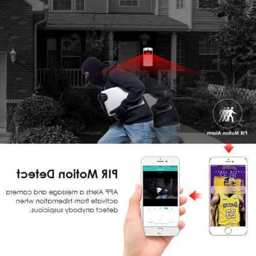 Wireless Smart DoorBell WiFi Video Door Bell Two-Way Talk HD US