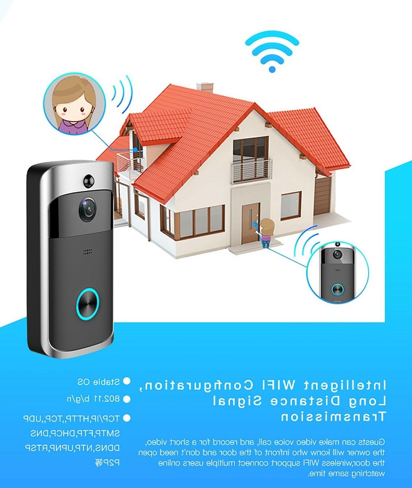 Berryku Wireless Video Smart HD IR Camera Intercom Motion