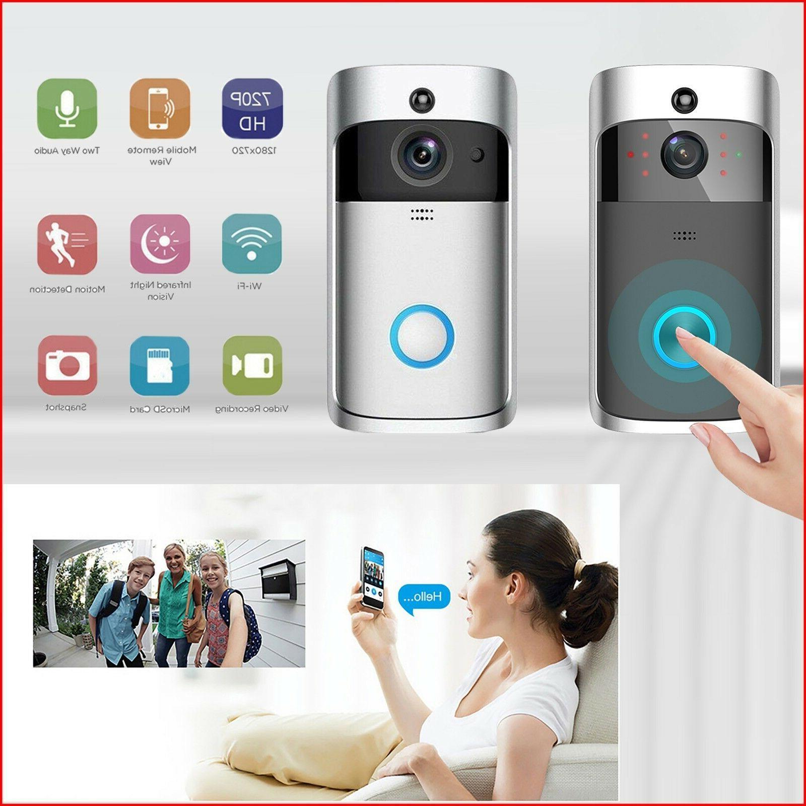 wireless video doorbell smart phone hd