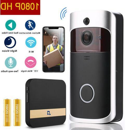 wireless video doorbell wifi smart security camera