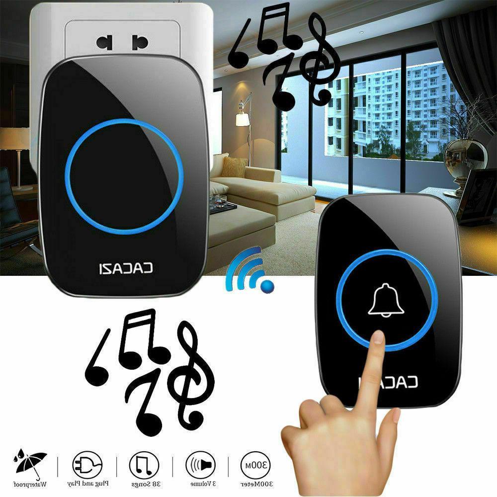 Wireless Waterproof Doorbell with Remote Adjustable Volume 3