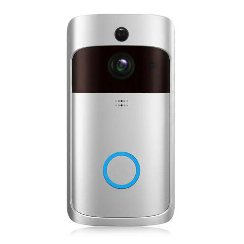 Wireless Wi-Fi Outdoor 720P Visual Doorbell For Android CellPhone