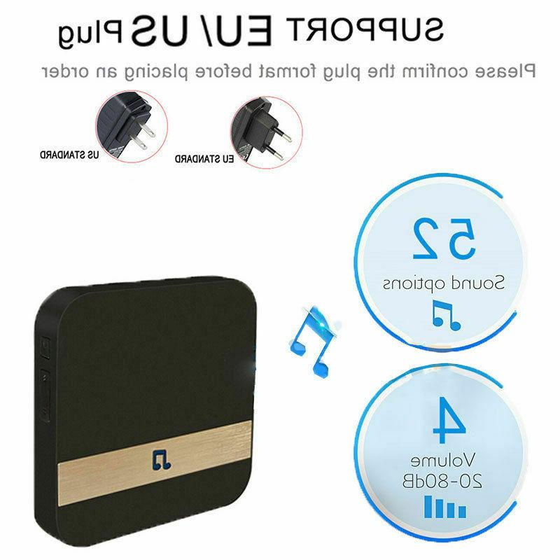 Wireless WiFi Video Chime Camera Door Bell