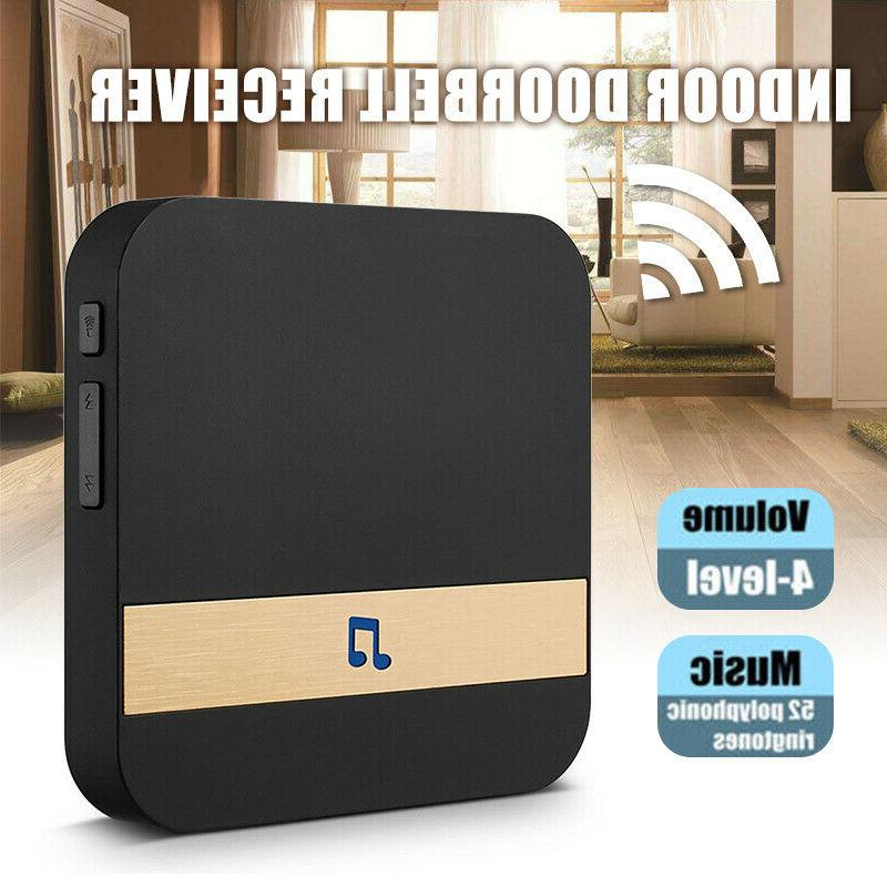 wireless wifi doorbell chime ding dong visual