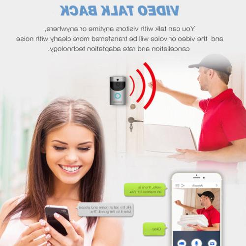 Wireless Video Phone Visual Ring Secure