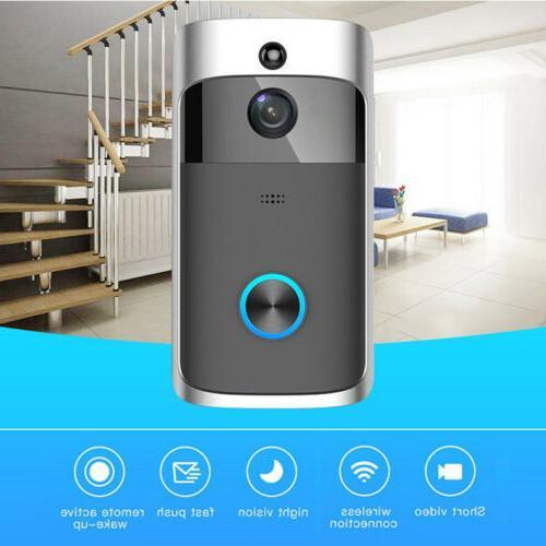 Wireless WiFi Smart Video Phone Door Ring