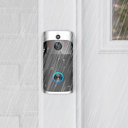 Wireless DoorBell Smart Ring Secure Camera
