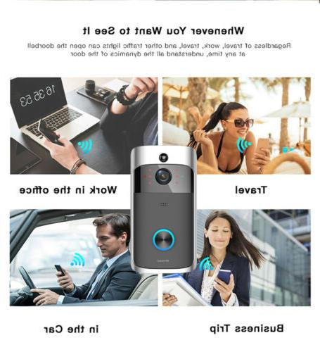 Wireless WiFi Smart Video Phone Visual Ring