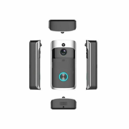 Smart Bell Wifi Doorbell IR Camera