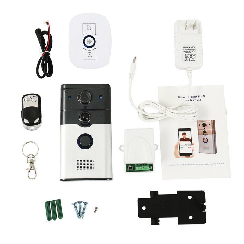 Wireless Doorbell Video Bell Intercom Home
