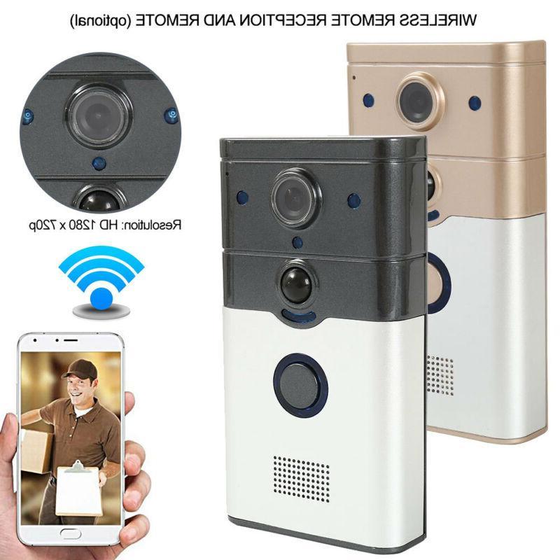 Wireless Video Camera Bell Intercom